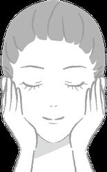 目もと口もとや目立ってきた様々な年齢サインの根本原因にアプローチし、ハリとツヤのある若々しい素肌へと導きます。